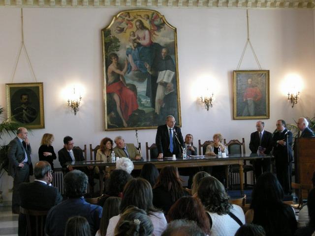 Conferenza al Municipio di Cava