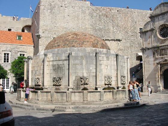 Fontana Onofrio a Dubrovnik